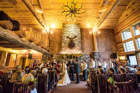 lodge wedding venues new whitefish lodge manhattan lodge venue crosslake mn weddingwire