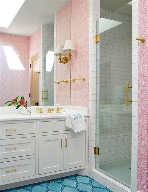 pink and blue bathroom ideas pink and blue girls bathroom contemporary bathroom
