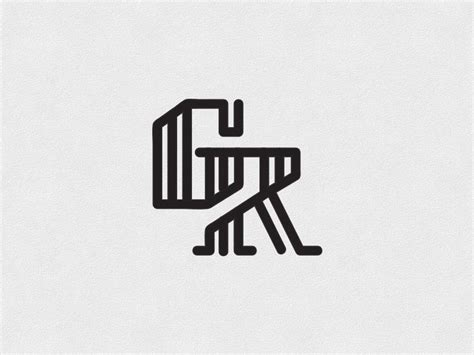 2525 best Logo | Branding Inspiration images on Pinterest ... G R Logo