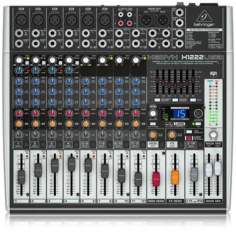 Mixer Behringer Xenyx X1222usb behringer mesa de som x1222usb eletr 244 nica gpl