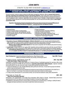 how to organize resume