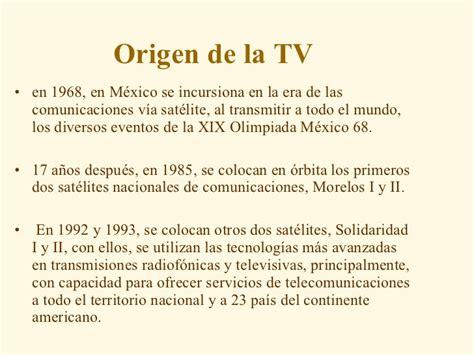 el origen de la 8415996063 origen de la tv