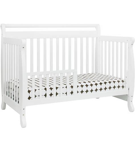 Davinci Emily 4 In 1 Convertible Crib With Toddler Rail Davinci Emily 4 In 1 Convertible Crib In White