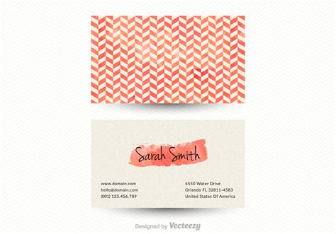 chevron business card template free free vector chevron business card template free