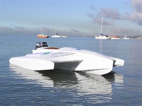 dory catamaran hull design massey marine design at the boat and fishing show scoop news