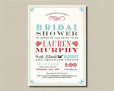 free printable vintage bridal shower invitations bridal shower invitations free printable vintage bridal