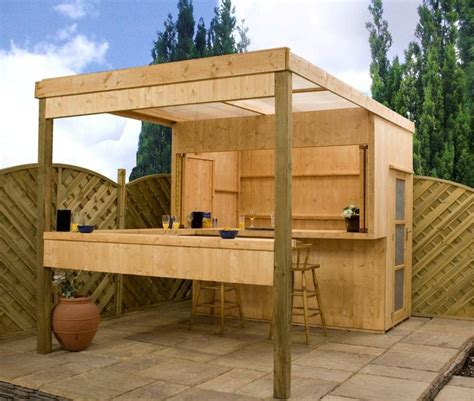 Backyard Building Ideas Shetomy Detail Outdoor Shed Bar