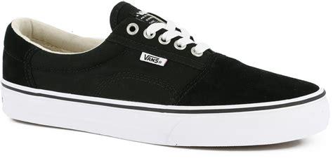 vans rowley solos skate shoes black white free shipping