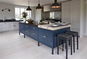 Blue Kitchen Islands by Design Trend Blue Kitchen Cabinets Amp 30 Ideas To Get You