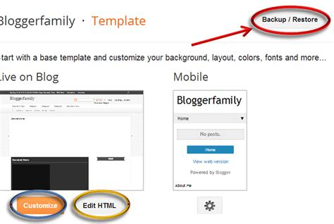 how to upload new template to blogger blogging tips and