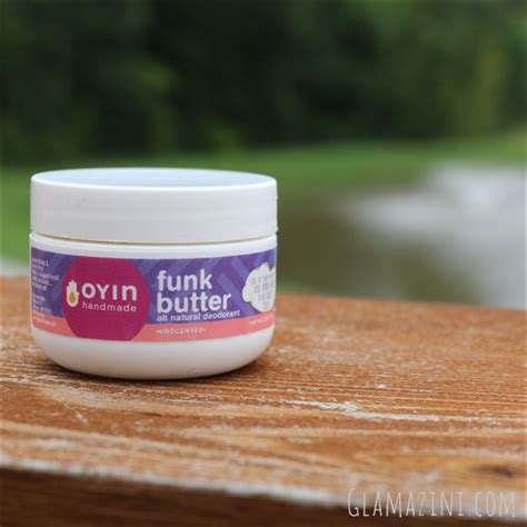Oyin Handmade Pudding Reviews - oyin funk butter deodorant review glamazini