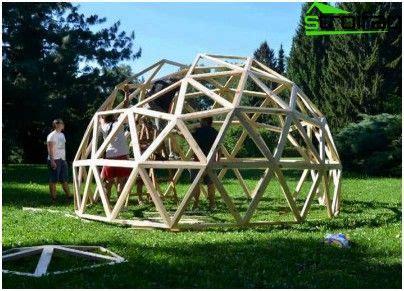 costruire cupola geodetica oltre 25 fantastiche idee su cupola geodetica su