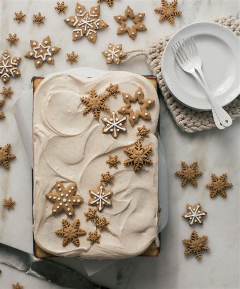 Cozy Kitchen Sheet Cake brown butter pecan snacking sheet cake with spiced