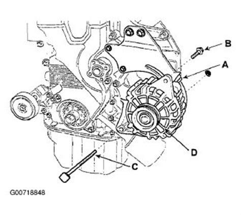 Kia Alternator Problems 2004 Kia Spectra Replace Alternator Electrical Problem