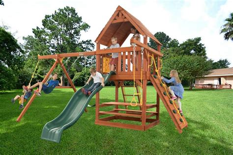 swing set roof swingsets and playsets nashville tn parrot island fort