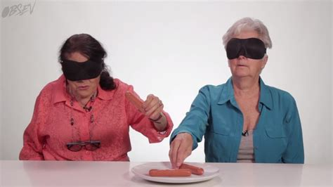 how cool is your grandmother test blindfolded grandmas take the touch test rtm