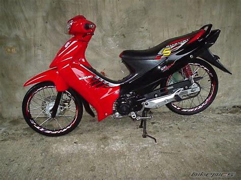 Stripingsticker Motor Shogun Sp 125 2008 dunia modifikasi galeri foto modifikasi motor shogun sp
