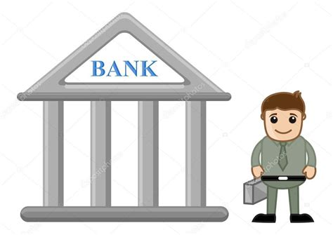 banche a como banca concepto vector ilustraci 243 n de dibujos animados