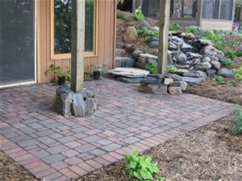 pictures of patios made with pavers patio pavers what you need to concrete pavers guide