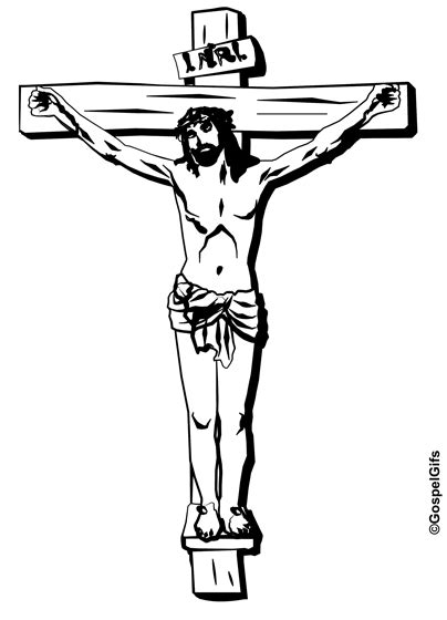 Jesus The Christ On Cross Clipart 2 Wikiclipart Drawing Of Jesus On The Cross 2