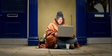 homeless people  technology huffpost