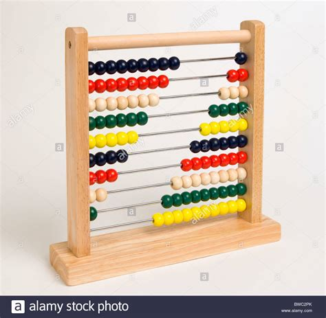 counting tool with education school tools abacus or counting frame a