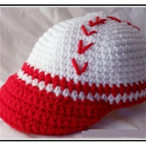 crochet baseball hat pattern for baby dancox for