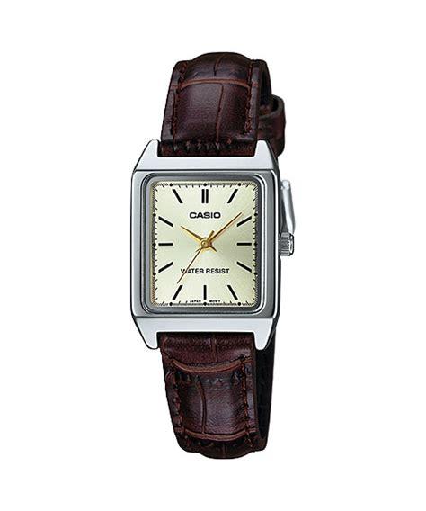 Casio Square Watches casio analog ltp v007l 9ev square