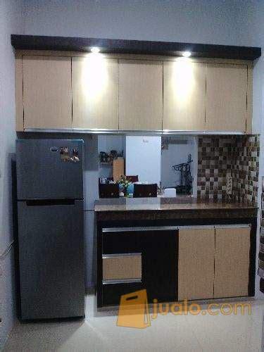 kitchen set minimalis hpl tempahan medan jualo