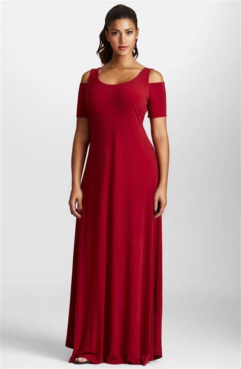 Cold Shoulder Maxi Dress plus size s mynt 1792 cold shoulder maxi dress