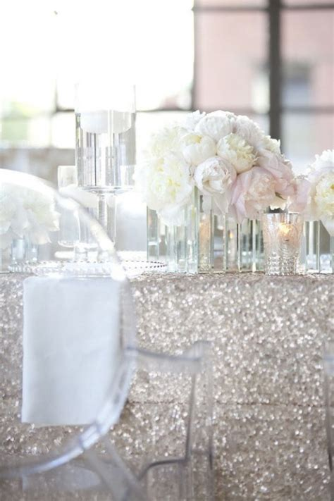 wedding table cloth sequin table cloths help me find this weddingbee
