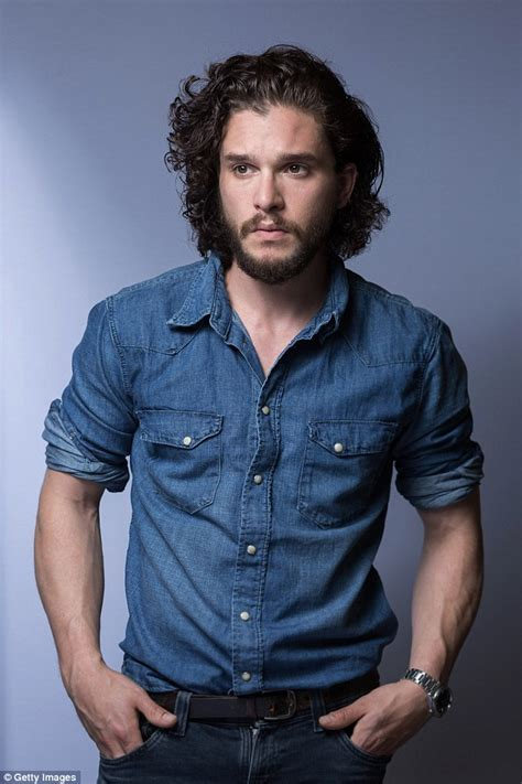 Hair Style Kit Name by Of Thrones S Kit Harington Shaves His Beard
