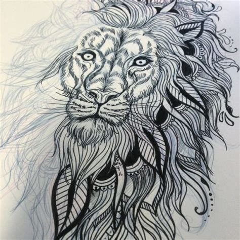 mandala animal tattoo tumblr lion mandala tattoo google search tattoo pinterest