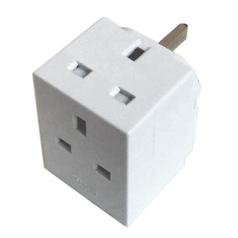 Adaptor Multi 3 way adaptor 13 extension electronics multi socket adapter ebay