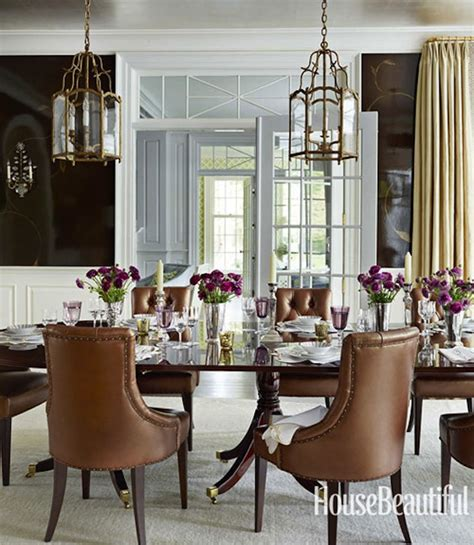 house beautiful dining rooms whittaker does pretty perfectly in house beautiful
