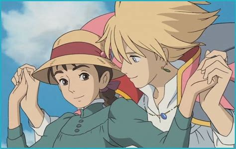 howls moving castle howl studio my favorite scene in howl s moving castle the sky stroll