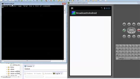 android broadcastreceiver tutorial android tutorial 12 broadcast receiver youtube