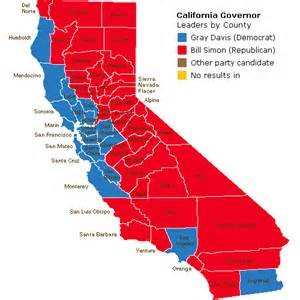 california s voting colors
