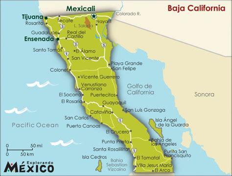 map california mexico baja california map map gallery map gallery for baja