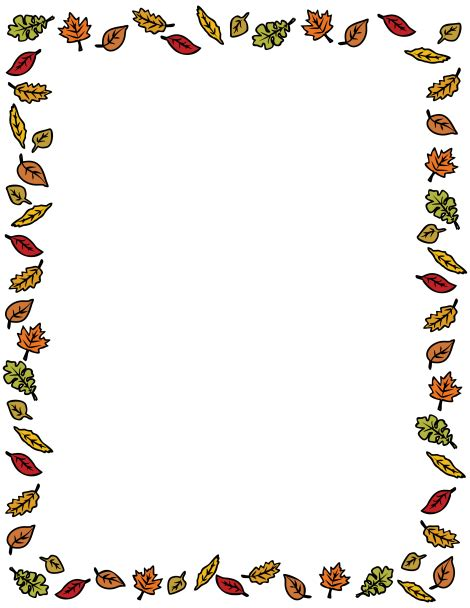my athletic winter alphabet wonderous watercolors books a border featuring colorful autumn leaves around the page