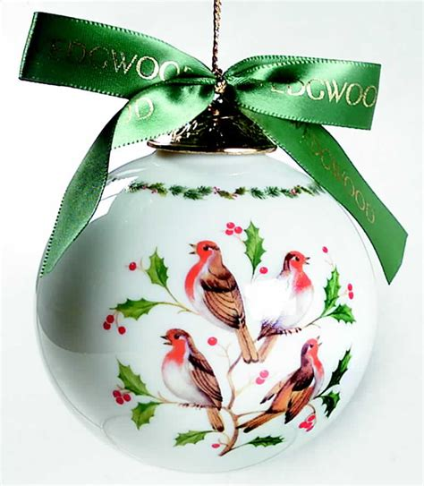 wedgwood twelve days of christmas ball ornament 4 calling