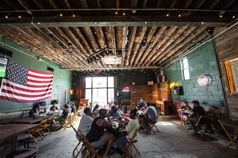 Southern Home Interiors Hometown Bar B Que Red Hook Brooklyn