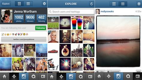 layout instagram play store instagram update for ios brings speed easy searches and