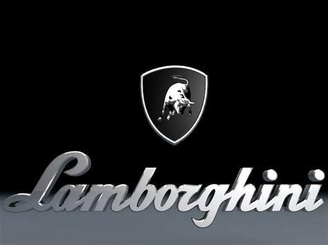 logo lamborghini 3d lamborghini logo 3d model car cgtrader