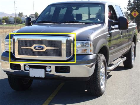 2003 ford f250 grille 2005 2007 ford f 250 f 350 duty excursion grille