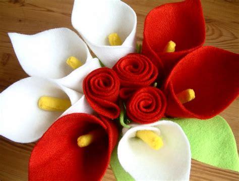 contoh kerajinan tangan bunga  kain flanel