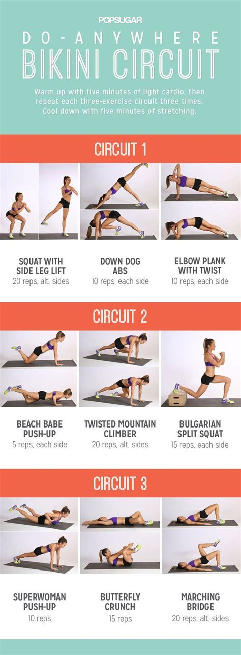 printable exercise routines for weight loss 25 best ideas about at home workouts on pinterest