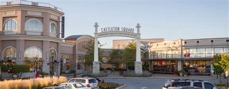 layout of castleton square mall redevelopment of lifestyle center castleton square mall