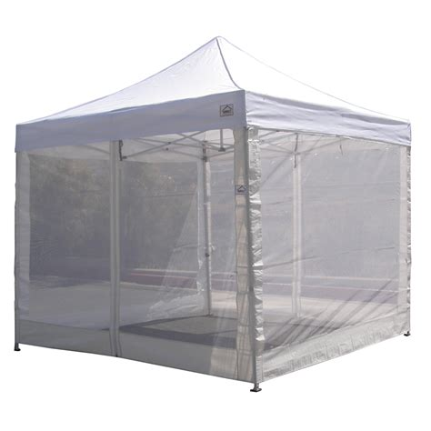 Canopy Tent With Sidewalls - 10 x10 pop up canopy tent mesh sidewalls screen room