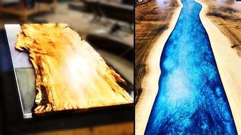 amazing making epoxy resin river table compilation